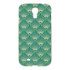 Green Fan  Samsung Galaxy S4 I9500/i9505 Hardshell Case by 8fugoso