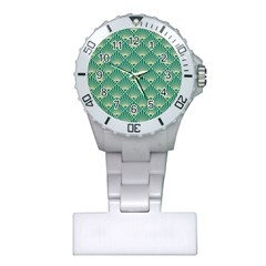 Green Fan  Plastic Nurses Watch by 8fugoso
