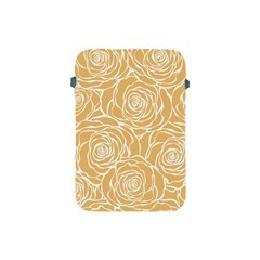 Yellow Peonines Apple Ipad Mini Protective Soft Cases by 8fugoso