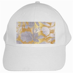Gold Silver White Cap by 8fugoso