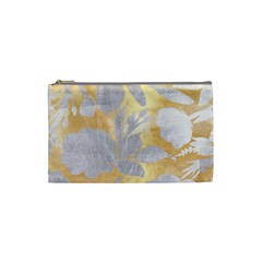 Gold Silver Cosmetic Bag (small)  by 8fugoso
