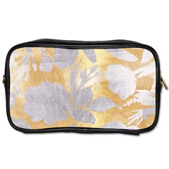 Gold Silver Toiletries Bags 2 Side by 8fugoso