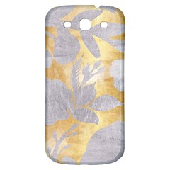 Gold Silver Samsung Galaxy S3 S Iii Classic Hardshell Back Case by 8fugoso