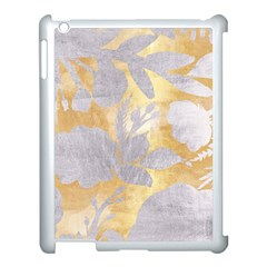 Gold Silver Apple Ipad 3/4 Case (white) by 8fugoso