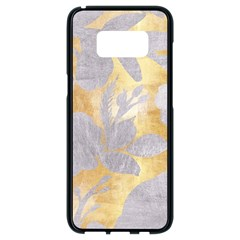 Gold Silver Samsung Galaxy S8 Black Seamless Case