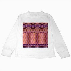 Flower Of Life Pattern 3 Kids Long Sleeve T Shirts