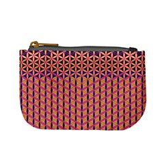 Flower Of Life Pattern 3 Mini Coin Purses by Cveti