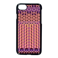Flower Of Life Pattern 3 Apple Iphone 8 Seamless Case (black) by Cveti