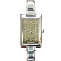 Shooting Stars Over The Sea Of Calm Rectangle Italian Charm Watch by pepitasart
