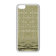 Shooting Stars Over The Sea Of Calm Apple Iphone 5c Seamless Case (white) by pepitasart
