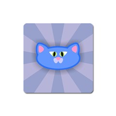 Advertise Animal Boarding Cat Square Magnet