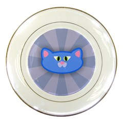 Advertise Animal Boarding Cat Porcelain Plates