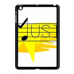 Music Dance Abstract Clip Art Apple Ipad Mini Case (black) by Celenk
