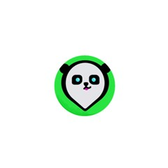 Panda Bear 1  Mini Buttons by Celenk