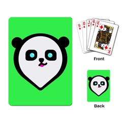 Panda Bear Playing Card by Celenk