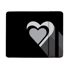 Heart Love Black And White Symbol Samsung Galaxy Tab Pro 8 4  Flip Case by Celenk
