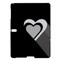 Heart Love Black And White Symbol Samsung Galaxy Tab S (10 5 ) Hardshell Case  by Celenk