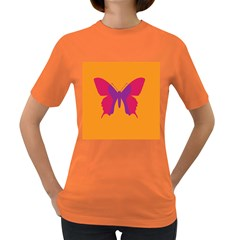 Butterfly Wings Insect Nature Women s Dark T Shirt by Celenk