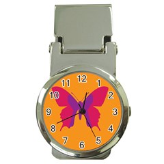Butterfly Wings Insect Nature Money Clip Watches