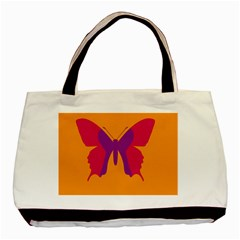 Butterfly Wings Insect Nature Basic Tote Bag by Celenk