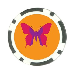 Butterfly Wings Insect Nature Poker Chip Card Guard (10 Pack) by Celenk