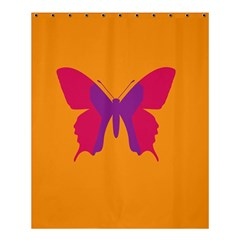 Butterfly Wings Insect Nature Shower Curtain 60  X 72  (medium)  by Celenk