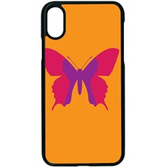 Butterfly Wings Insect Nature Apple Iphone X Seamless Case (black)