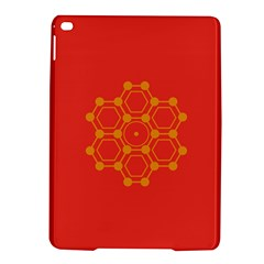 Pentagon Cells Chemistry Yellow Ipad Air 2 Hardshell Cases by Celenk