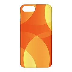 Abstract Orange Yellow Red Color Apple Iphone 7 Plus Hardshell Case by Celenk