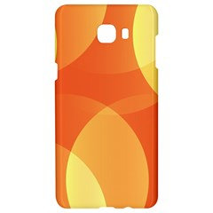 Abstract Orange Yellow Red Color Samsung C9 Pro Hardshell Case