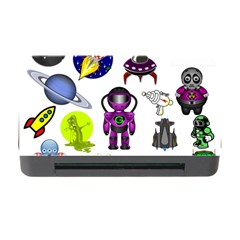Space Clip Art Aliens Space Craft Memory Card Reader With Cf