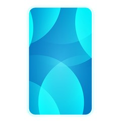 Abstract Blue Wallpaper Wave Memory Card Reader