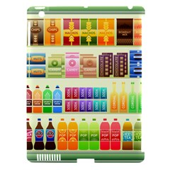 Supermarket Shelf Products Snacks Apple Ipad 3/4 Hardshell Case (compatible With Smart Cover) by Celenk