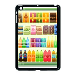 Supermarket Shelf Products Snacks Apple Ipad Mini Case (black)