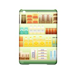 Supermarket Shelf Coffee Tea Grains Ipad Mini 2 Hardshell Cases by Celenk