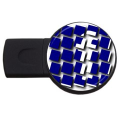Facebook Social Media Network Blue Usb Flash Drive Round (2 Gb)