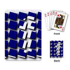 Facebook Social Media Network Blue Playing Card by Celenk