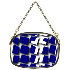 Facebook Social Media Network Blue Chain Purses (two Sides)  by Celenk