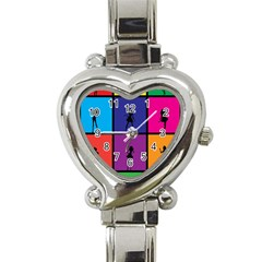 Girls Fashion Fashion Girl Young Heart Italian Charm Watch by Celenk