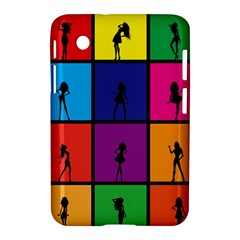Girls Fashion Fashion Girl Young Samsung Galaxy Tab 2 (7 ) P3100 Hardshell Case  by Celenk
