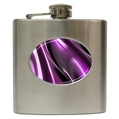 Fractal Mathematics Abstract Hip Flask (6 Oz) by Celenk