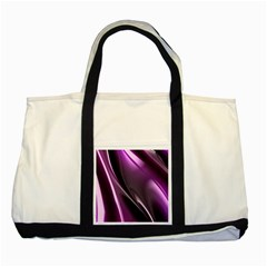 Fractal Mathematics Abstract Two Tone Tote Bag by Celenk