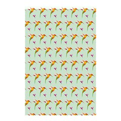 Birds Hummingbirds Wings Shower Curtain 48  X 72  (small)  by Celenk