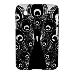Peacock Bird Animal Feather Samsung Galaxy Tab 2 (7 ) P3100 Hardshell Case  by Celenk
