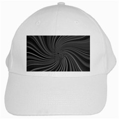 Abstract Art Color Design Lines White Cap