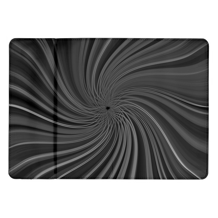Abstract Art Color Design Lines Samsung Galaxy Tab 10.1  P7500 Flip Case