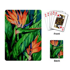 Flowers Art Beautiful Playing Card by Celenk