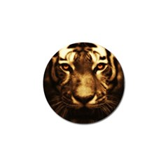Cat Tiger Animal Wildlife Wild Golf Ball Marker (4 Pack)