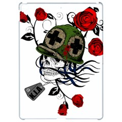 Skull Skeleton Dead Death Face Apple Ipad Pro 12 9   Hardshell Case by Celenk
