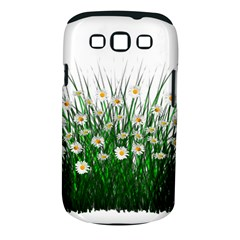 Spring Flowers Grass Meadow Plant Samsung Galaxy S Iii Classic Hardshell Case (pc+silicone) by Celenk